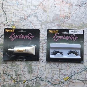 Faux Lashes and Glue Spirit Halloween
